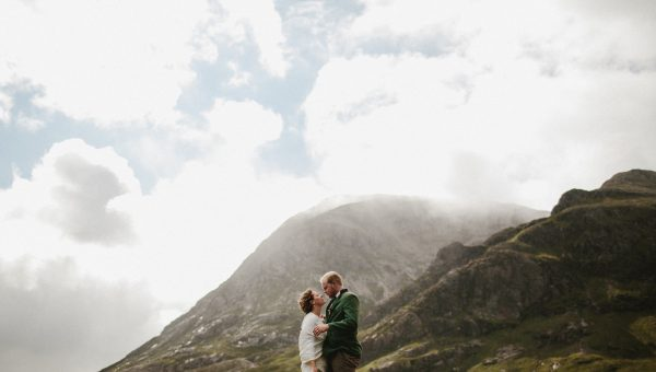 Glencoe wedding // Lucas and Elle // Glencoe wedding photographer