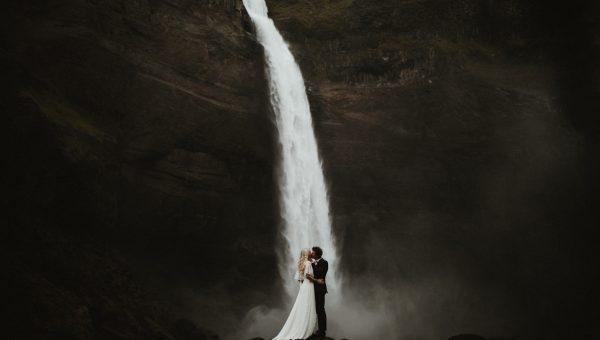 Katie & Marco // Iceland Elopement