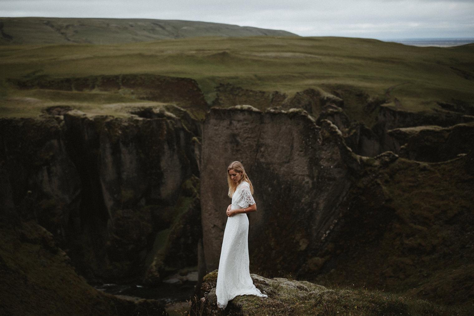 Icelandic wedding