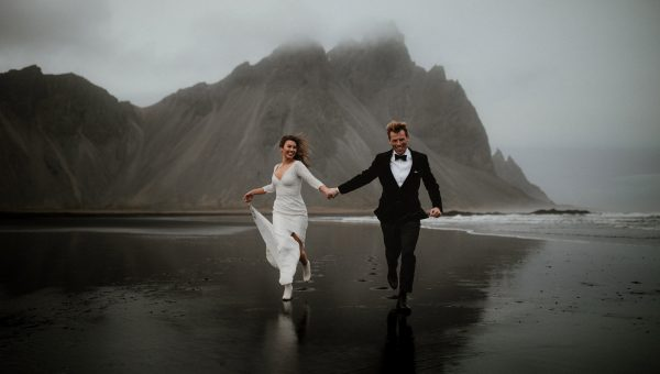 Jess and Lucas // Iceland Elopement