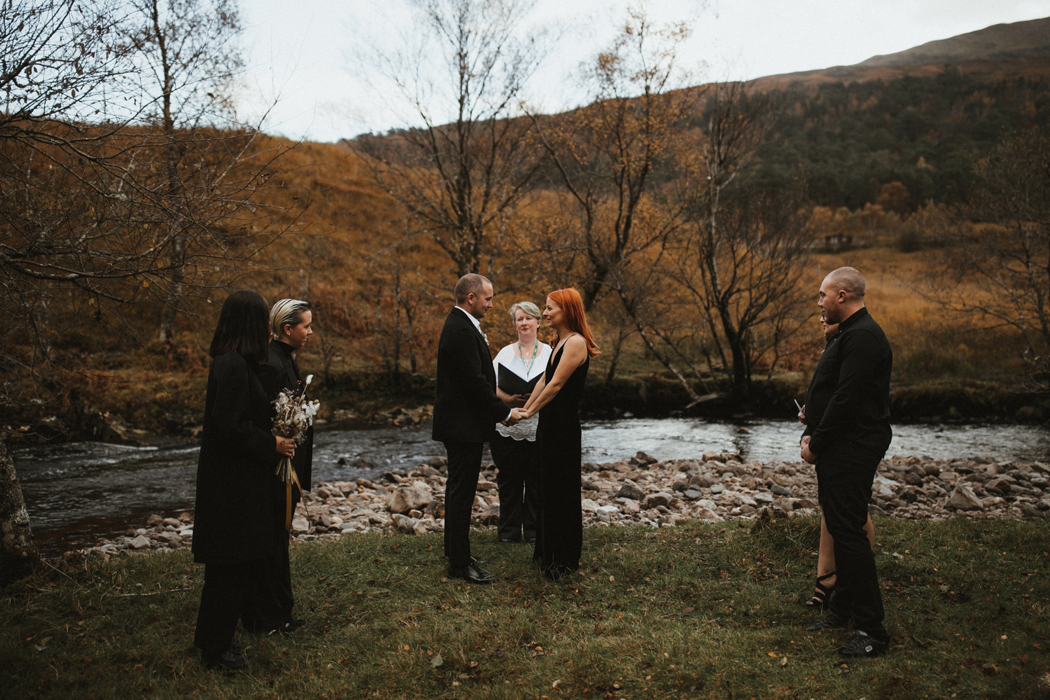 Wedding Ceremony in Glencoe