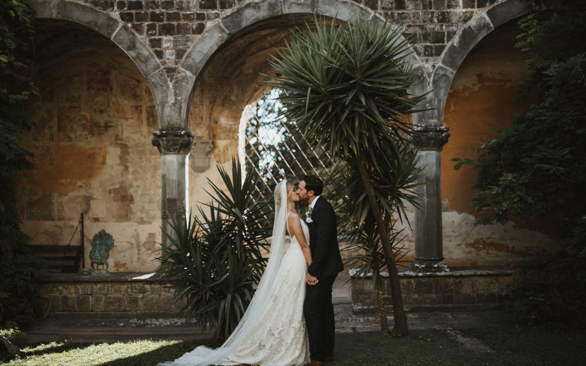 Tuscan Castle Wedding, Italy  // Emma & Matt