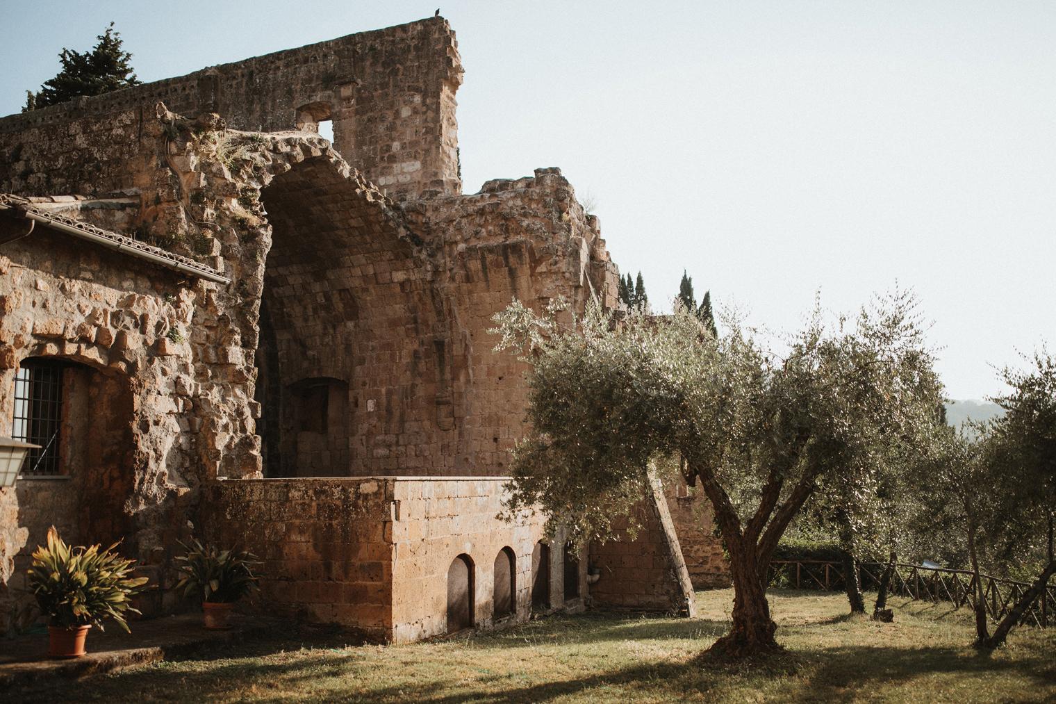 La Badia Di Orvieto wedding venue in Umbria